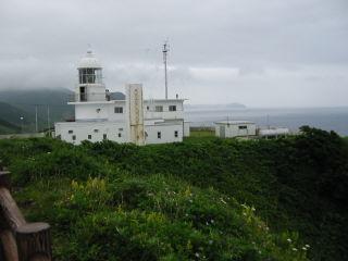 竜飛埼の先端にある観測所