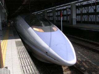 「新幹線のキムタク」(?)こと500系のぞみ