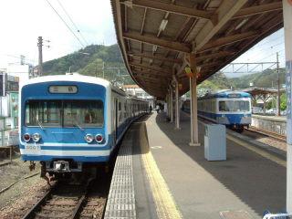 伊豆箱根鉄道駿豆本線で修善寺温泉へ