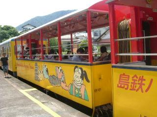 島鉄トロッコ列車も今年がラストラン!