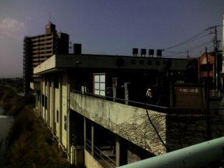 飯坂温泉駅で記念撮影。